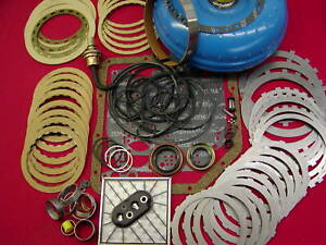 Th350 350 Master Rebuild Kit Complete With Rebuilt Torque Converter Chev Type