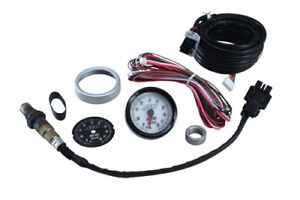 Aem Uego Wideband O2 Sensor Oxygen Air Fuel Gauge Kit 30 5130