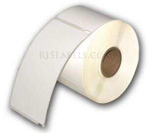 6 Rolls 1800 Rjs White Shipping Labels 2 5 16 X 4 Compatible W dymo 30256