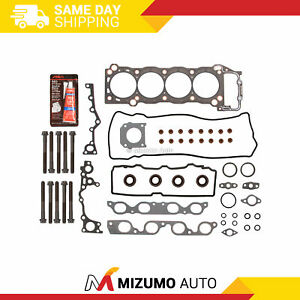 Head Gasket Bolts Set Fit 90 97 Toyota Previa Supercharged 2 4 2tzfe 2tzfze