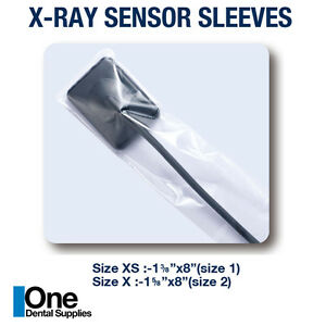 Dental X ray Disposable Sensor Sleeves 2500 Pcs