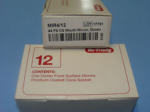 Front Surface Mouth Mirror No 04 Mir4 Box 12 Hu Friedy