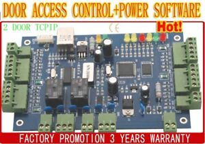 Rfid Proximity Two doors Tcp ip Network Door Controller Control Board Panel