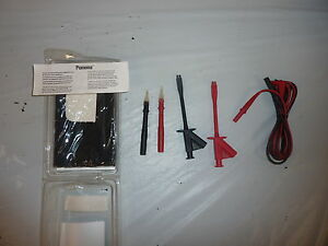Pomona Model 5900 pom Test Lead Kit Digital Multimeter