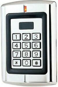 Metal Case Keypad Proximity Rfid Card Reader