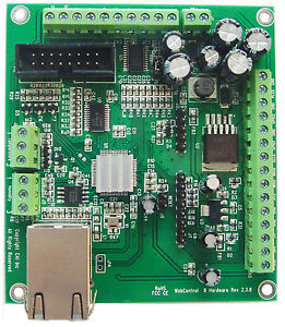 Webcontrol Timer Temperature Humidity I o Controller Hw 2 3 8 With Chassis