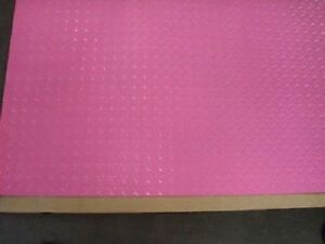 Aluminum Diamond Plate Powder Coated 045 X24 x48 Pink