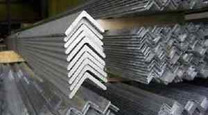 Alloy 304 3 Brushed Stainless Steel Angle 1 X 1 X 024 X 90
