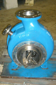 Ahlstrom Sulzer Medium Consistency Pump Model Mpp 15 p1 sku Pt5147 48
