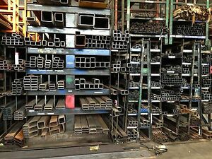 Steel Square Tubing 1 1 4 X 1 1 4 X 1 8 X 90 3 Pieces