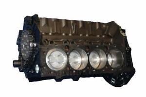 Remanufactured Gm Chevy 5 7 350 Short Block 1986 Model 4 bolt Main