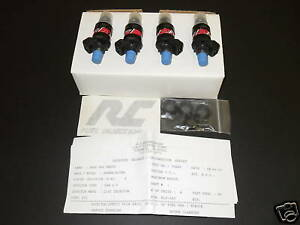 Rc Fuel Injectors 550cc Acura Integca Honda Civic Gsr 550 Cc D B Series Motors