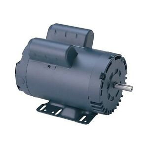 New 5 Hp 3450 Rpm 230v Single Phase Air Compressor Electric Motor 145t 7 8 Shaft
