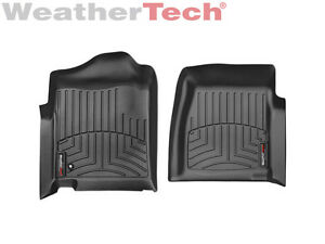 Weathertech Floor Mat Floorliner For Silverado Sierra Regular Cab 1st Row Black