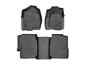 Weathertech Truck Floorliner For 99 07 Silverado Sierra 1st 2nd Row Black