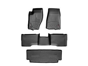 Weathertech Floor Mats Floorliner For Jeep Commander 2006 2010 Black