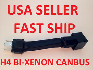 Canbus Anti Flashing Error Free Warning Canceler Decoder H4 9003 Hid Bi Xenon