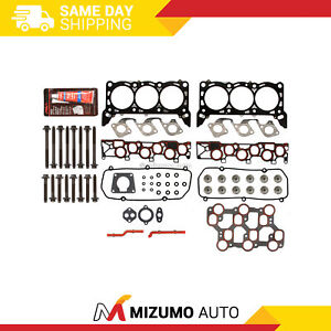 Head Gasket Bolts Set Fit 01 15 1998 04 Ford Mustang F150 3 8 4 2 Ohv Vin 2 4 6