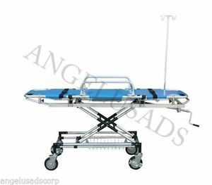 Emergency Medical Stretcher Trolley Ambulance Aluminum Fda Ce 191 mayday