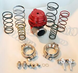 Tial Wastegate V band Mvs Mv s 38mm External 0 5 Bar In Red