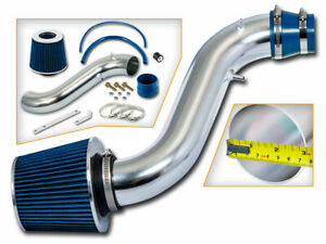 Ram Air Intake Kit Blue Cone Filter For 90 93 Honda Accord 2 2 Dx Lx Ex