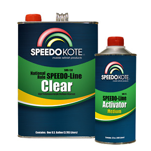 Automotive Clear Coat Fast Dry 2k Urethane Smr 130 75 4 1 Gallon Clearcoat Kit
