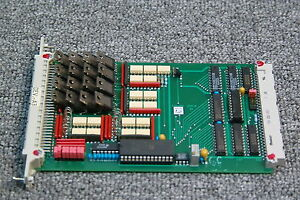Fairchild Convac Ceaia Bs Wafer Rinse Coat Develope Process pcb Board 2
