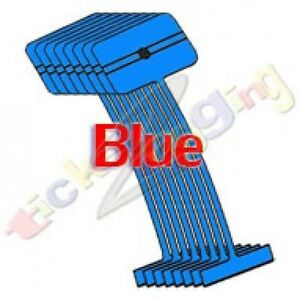 50 000 1 Blue Regular Standard Barbs Tag Tagging Gun Fasteners High Quality