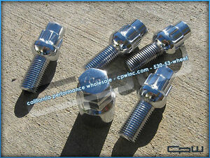 Chrome Mercedes Benz Wheel Lock Set Lug Bolts E C Sl Cls Class