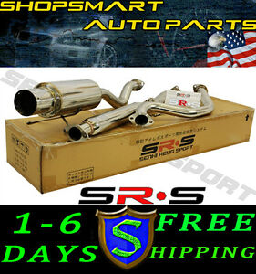 Srs Type R1 Catback Exhaust Acura Integra Gs Rs Ls 94 95 96 97 98 99 00 01 2 Dr