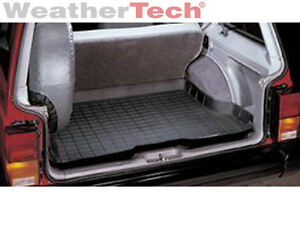 Weathertech Cargo Liner Trunk Mat For Jeep Cherokee 1984 2001 Black