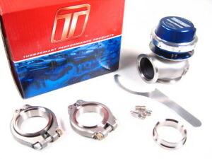 Turbosmart Comp gate40 40mm 7psi External Wastegate Turbo Blue Ts 0505 1005 New