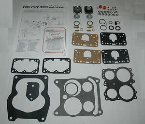 Holley List s 6210 6211 6262 6263 6468 6772 Rebuild Kit New Everything You Need