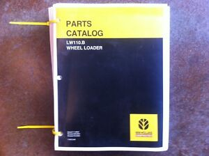 New Holland Wheel Loader Lw110 b Complete Parts Manual