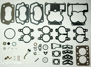 1955 69 Carb Kit Rochester Small Bore 2 Barrels Chevy 283 302 307 327 Engines