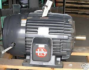 Us Motors Emerson Motor 60 Hp Electric 3545 Rpm