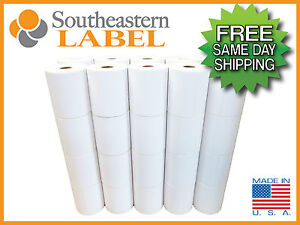 4x6 Direct Thermal Labels 40 Rolls 250 roll Zebra Eltron 2844 Free Shipping