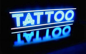 Tattoo Led Signs Parlor Body Piercing Shop Quality Light Box Neon Alternative