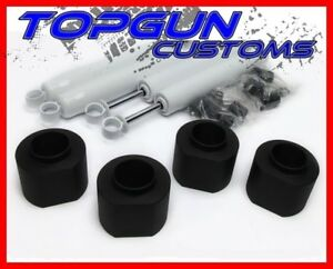 3 Coil Spacer Money Saver Full Lift Kit With Shocks 1997 2006 Jeep Wrangler Tj