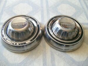 Old Dog Dish Hubcaps Set Of 2