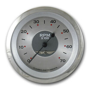 Classic Instruments All American Series Tach Gauge 3 3 8 Hot Rod Street