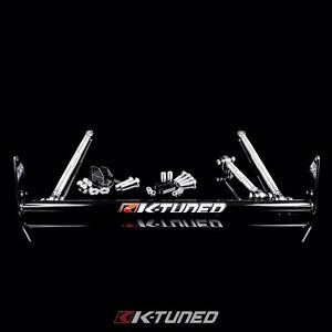 K Tuned Traction Bar W Front Motor Mount Civic Crx 88 91 B16 B18 B Series