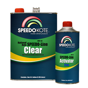 Automotive Clear Coat Fast Dry 2k Urethane 4 1 Gallon Clearcoat Kit W Slow Act