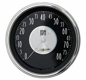 Classic Instruments All American Tradition Series Tach Gauge 4 5 8 Hot Rod