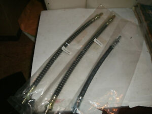 Mgb Brake Hoses Set 3 Made In England 1962 1980 Fits Mgb gt Too why Pay More