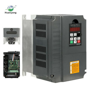 Updated 7 5kw 220v 10hp 34a Vfd Variable Frequency Drive Inverter Top Quality