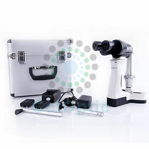 Multi spot Slit Lenth Adjustable Portable Hand Held Slit Lamp Psl 3800 Battery