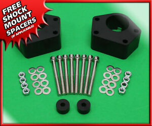 For 84 95 Toyota Ifs 4runner 2wd 4wd Front 2 Billet Level Lift Kit Black Spacer