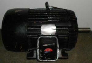 Us Remanufactured Electric Motor 15 Hp 3535 Rpm 11510wt