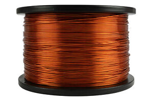 Temco 18 Awg Gauge Enameled Copper Magnet Wire 200c 5lb 995ft Coil Winding